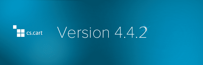 CS-Cart and Multi-Vendor 4.4.2