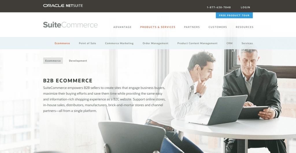 suitecommerce ecommerce platform for wholesalers