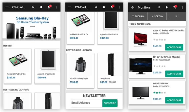 Choosing a Mobile App for Your CS-Cart Store: photo 6 - CS-Cart Blog