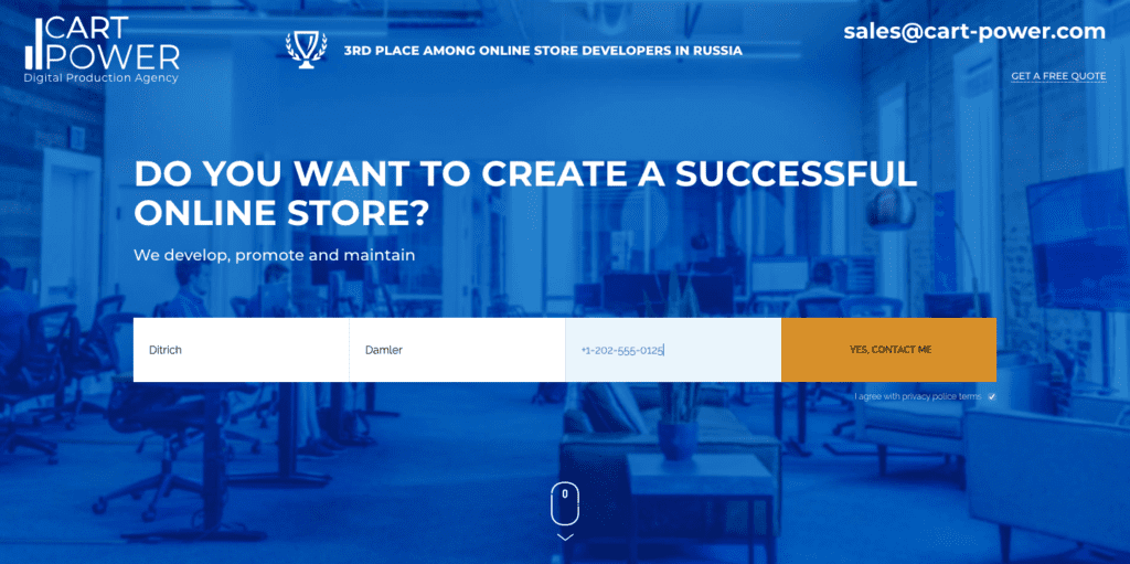 cart-power ecommerce agency