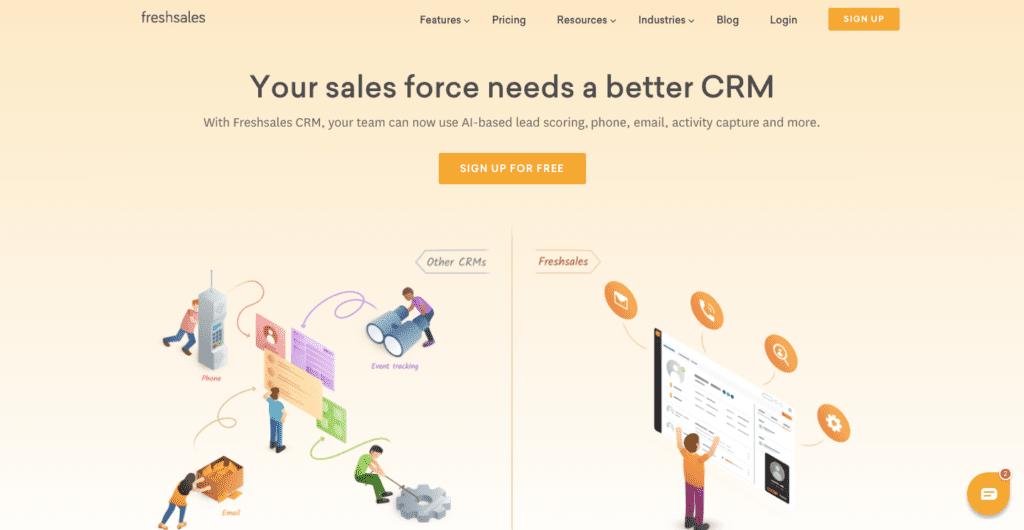 freshsales crm software