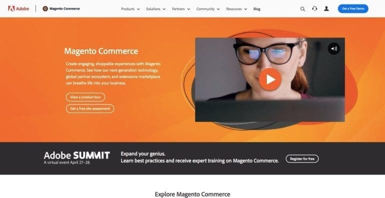 magento online shopping platform