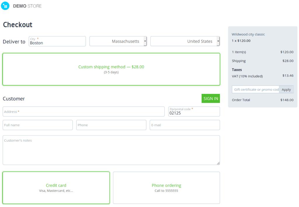 ια να αποκτήσετε τη νέα σελίδα ταμείου, μεταβείτε στα Πρόσθετα → Διαχείριση πρόσθετων και απεγκαταστήστε το Step-by-Step Checkout [Υπο Καταργηση]add-on.