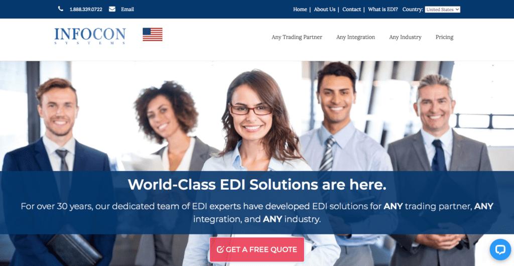 infocon EDI cloud solution