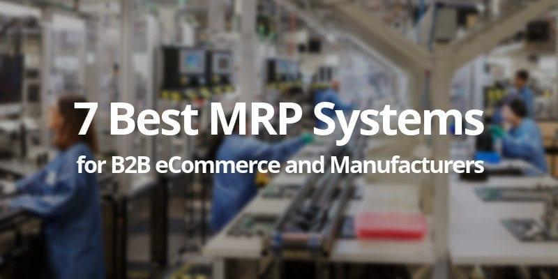 best mrp systems