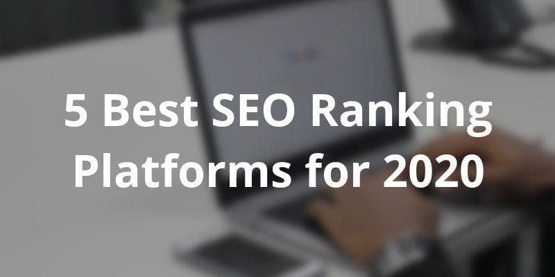 best seo ranking software for ecommerce