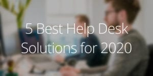 best help desk tools 2020