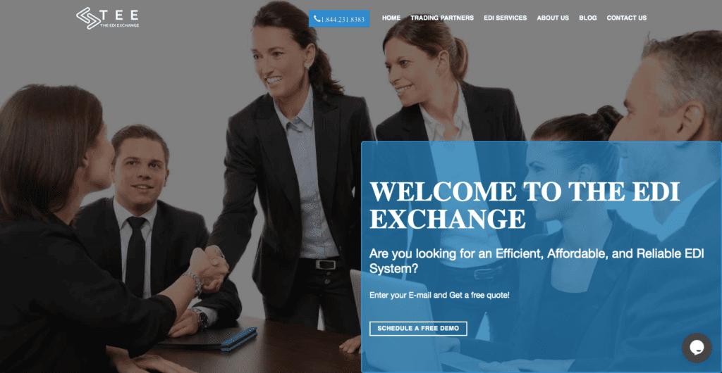 EDI exchange EDI system