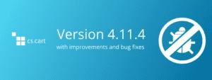 Meet CS-Cart and Multi-Vendor 4.11.4 with Bug Fixes and Improvements - CS-Cart Blog