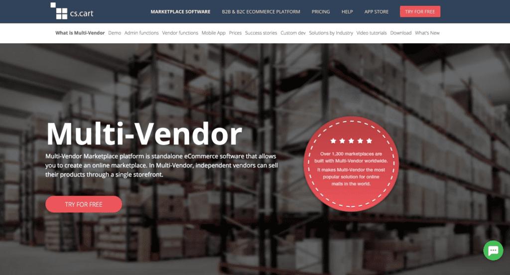 CS-Cart Multi-Vendor eCommerce script