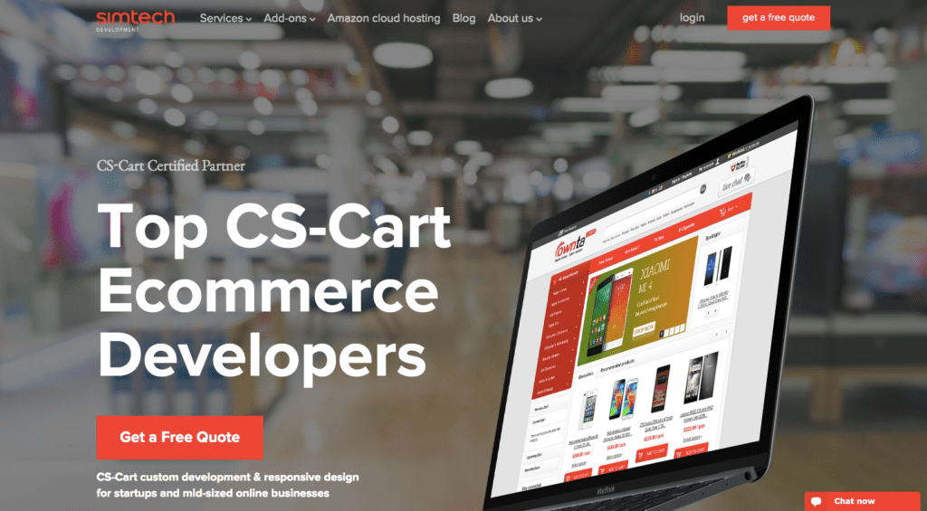 simtech development web agency