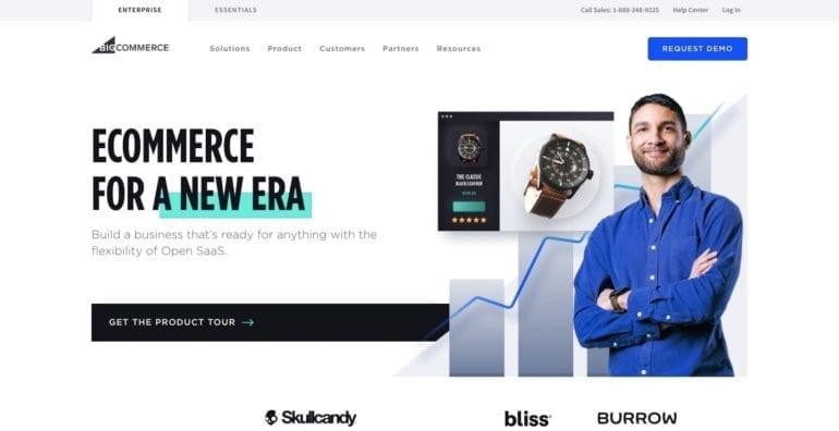 bigcommerce webshop platform