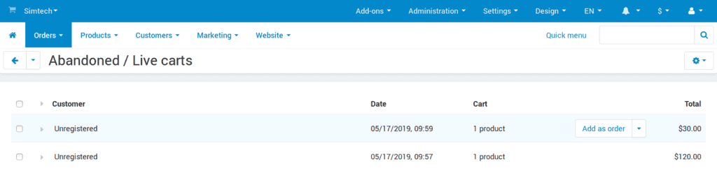 Meet CS-Cart & Multi-Vendor 4.10.1 with New Checkout and Product Variations: photo 5 - CS-Cart Blog