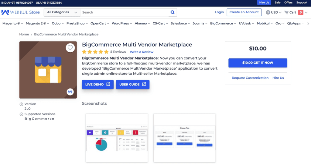 Top 10 Multi-Vendor Marketplace Software in 2020: photo 7 - CS-Cart Blog