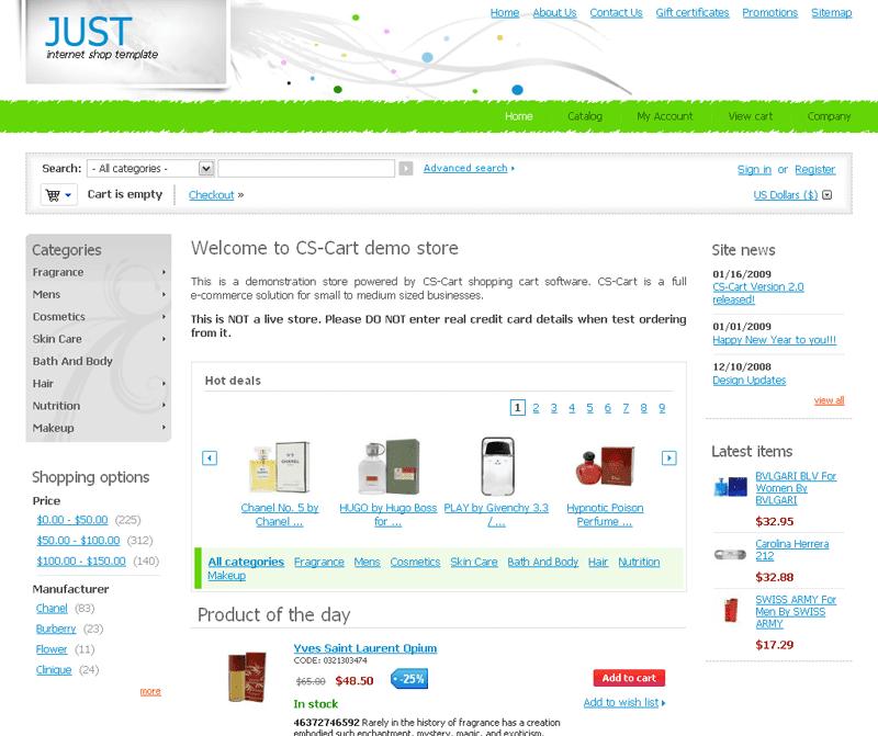 CS-Cart 2.0.13 is ou