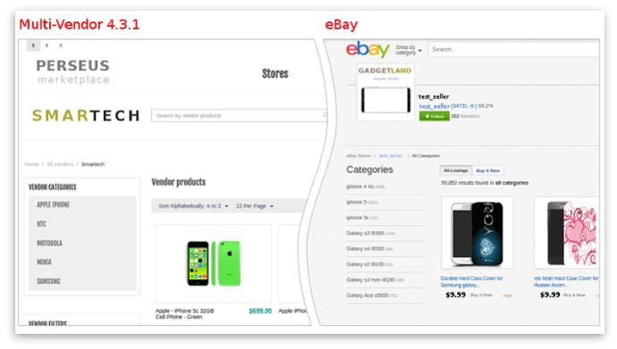 Vendor Page