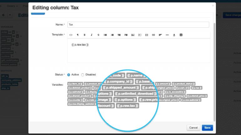 Μια ακατέργαστη αξία για τις μεταβλητές φόρου προστέθηκε στον επεξεργαστή τιμολογίων
