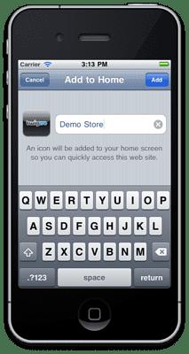 Twigmo Store Home Screen Icon