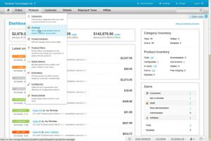 CS-Cart admin panel redesign overview thumb