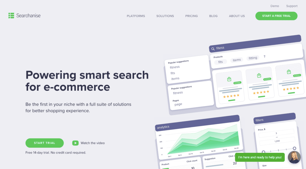 searchanise smart search