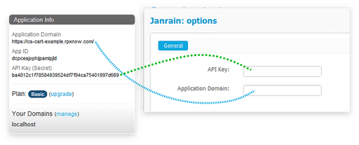 Configure Janrain