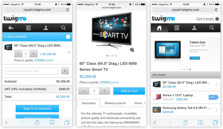 Choosing a Mobile App for Your CS-Cart Store: photo 4 - CS-Cart Blog