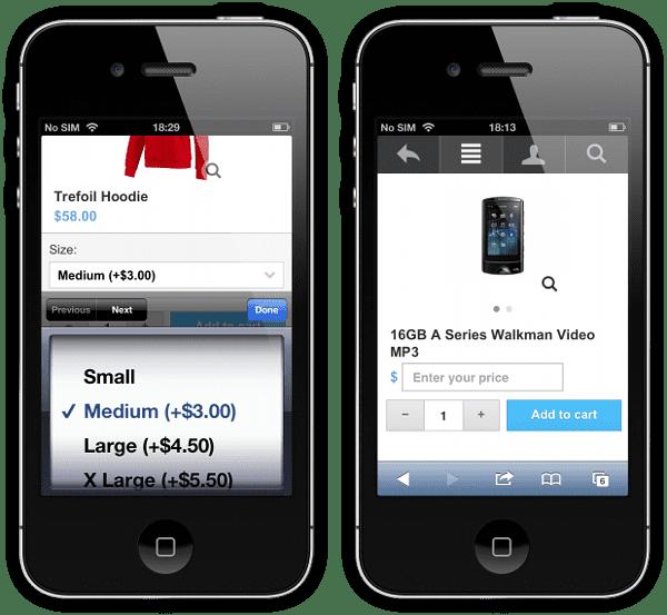 Twigmo 2.5: Price Modifier & User-Defined Price