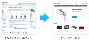 Import Database from CS-Cart 2.2.4/2.2.5 to CS-Cart 3.0.2