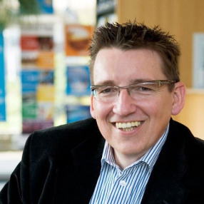 Rein Suijker, the founder of Edding-Shop