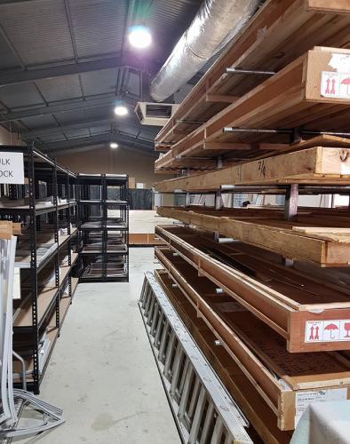 Seal My Fridge b2b ecommerce company's warehouse