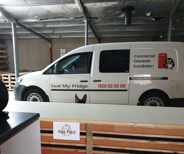 Australian wholesaler company's delivery car