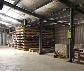 Australian b2b ecommerce company's warehouse