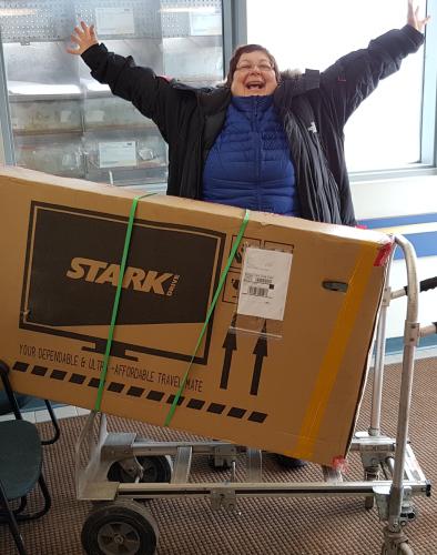 Stark Drive b2b ecommerce company's happy customer