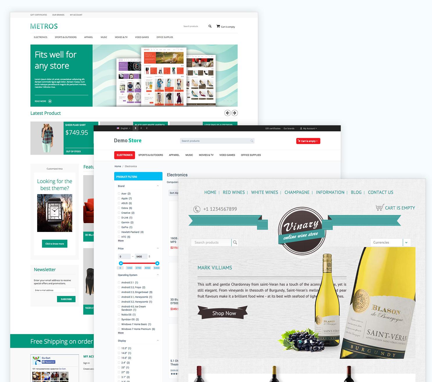 fast online storefront